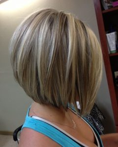 Asymmetry Blonde Bob Hairstyles Enhanced By Color