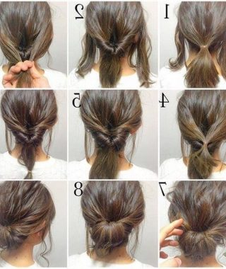 Simple Hair Updo Hairstyles