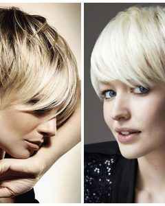 Short Haircuts For Women With Big Ears