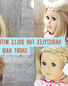 Hairstyles For American Girl Dolls With Short Hair