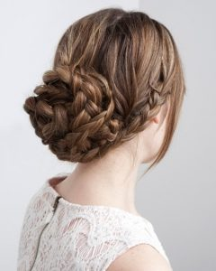 Braid Updo Hairstyles For Long Hair