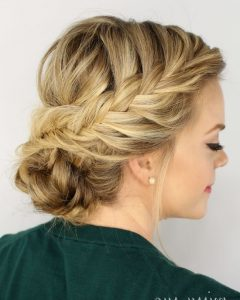 Long Thin Hair Updo Hairstyles