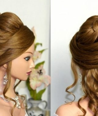 Long Curly Hair Updo Hairstyles