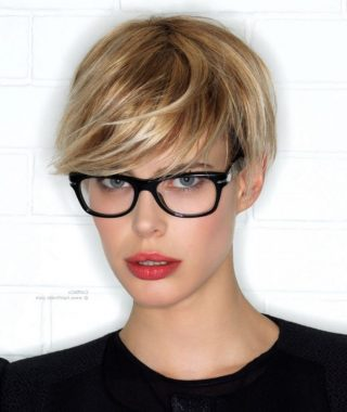 Pixie Hairstyles With Glasses