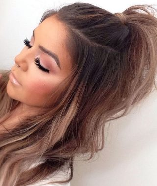 Casual Half Up Ponytail Hairstyles