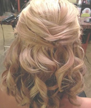 Wedding Half Up Medium Hairstyles