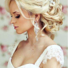 Blonde Half Up Bridal Hairstyles With Veil (Photo 2 of 25)