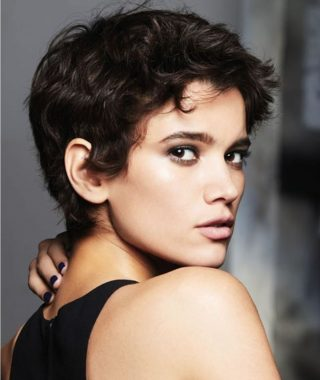 Short Short Haircuts For Round Faces