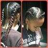 Diagonal Two French Braid Hairstyles (Photo 2 of 15)