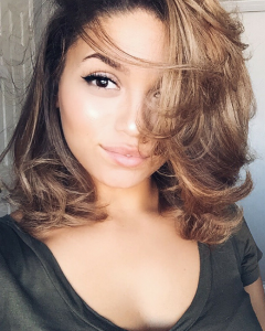Short Curly Blow Dry