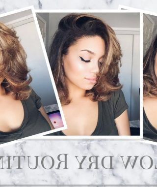 Blow Dry Short Curly Hair