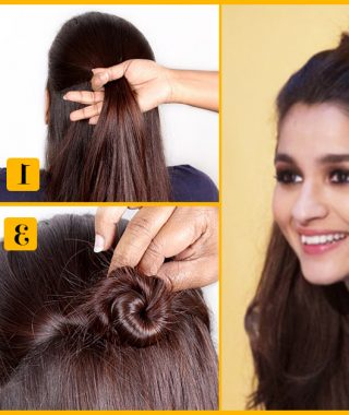 Simple Half Bun Hairstyles