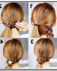 Easy Diy Updos For Medium Length Hair