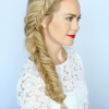 Fishtail Side Braided Hairstyles (Photo 2 of 25)