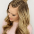 Braided Topknot Hairstyles With Beads
