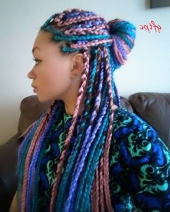 Braided Hairstyles With Color