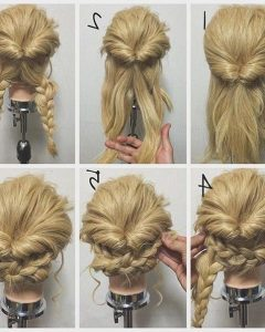 Easy Updo Long Hairstyles