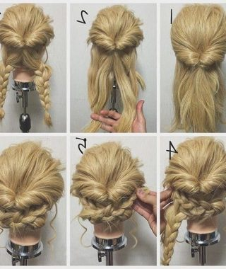 Easy To Do Updo Hairstyles For Long Hair