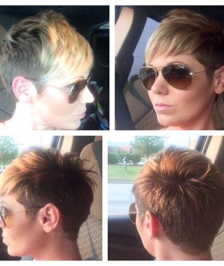 Clippered Pixie Hairstyles