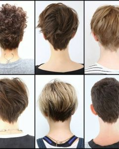 Pixie Hairstyles Front And Back