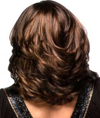 Medium Feathered Haircuts For Thick Hair
