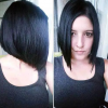 Jet Black Chin Length Sleek Bob Hairstyles (Photo 2 of 25)