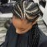 Jumbo Cornrows Hairstyles
