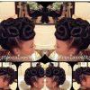Kanekalon Hair Updo Hairstyles (Photo 4 of 15)