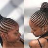 Metallic Side Cornrows Braided Hairstyles (Photo 7 of 25)
