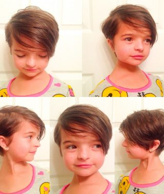 Short Pixie Hairstyles For Little Girls
