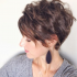 Long Messy Curly Pixie Haircuts