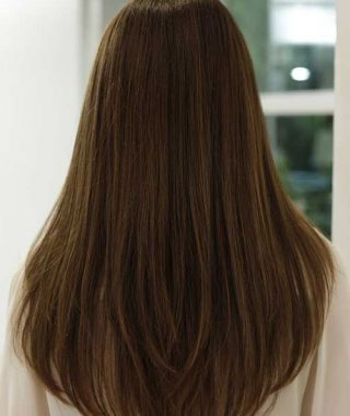Back View Of Long Hairstyles