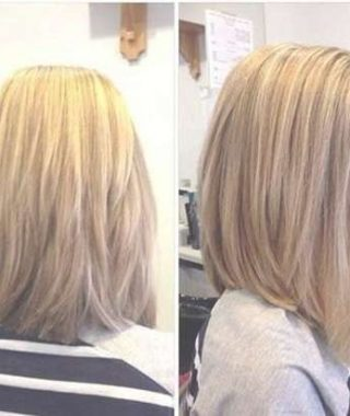 Layered Long Bob Haircuts