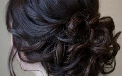 Low Bun Updo Hairstyles For Wedding
