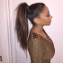 High Ponytail Hairstyles With Accessory