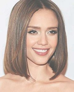 Article All One Length Medium Hairstyles
