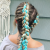 Blue Braided Festival Hairstyles (Photo 4 of 25)