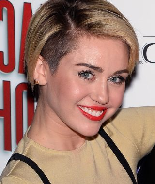 Miley Cyrus Short Haircuts