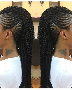 Braided Hairstyles In A Mohawk