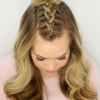 Topknot Ponytail Braided Hairstyles (Photo 13 of 25)