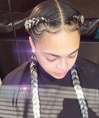 Two Classic Braids Hairstyles