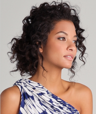 Updo Naturally Curly Hairstyles