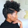 Faux Mohawk Hairstyles With Natural Tresses (Photo 10 of 25)