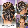 Cornrows Twist Hairstyles (Photo 13 of 15)