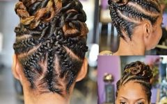 Twist Updo Hairstyles For Black Hair