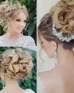 Glamorous Wedding Hairstyles For Long Hair
