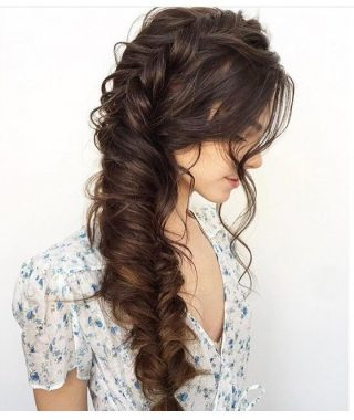 Oversized Fishtail Braided Hairstyles