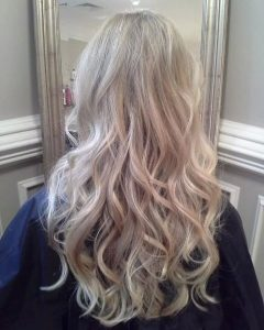 Pearl Blonde Highlights