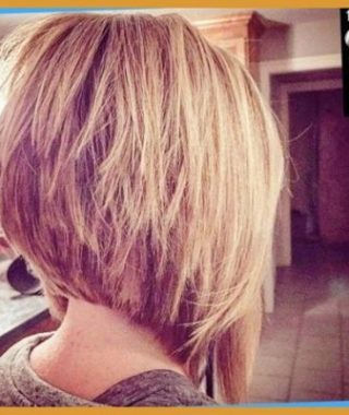 Stacked Swing Bob Hairstyles