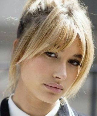 Lob Hairstyles With A Face-Framing Fringe